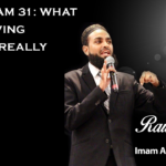 Raw Islam 31: What Does Giving Thanks Really Mean?