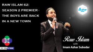 On this episode of the Raw Islam Podcast withImam Azhar – a2017 Podcast Awardnominated podcast – B.C. opens the episode by playing a small clip from Thin Lizzy's The Boys are Back in Town…and guess why? Because this is the premier of season 2.